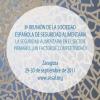 8ª Reunión de la Sociedad Española de Seguridad Alimentaria