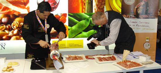 Promoción del Jamón Serrano Español en el mercado europeo