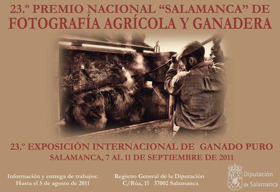 23 Premio Nacional Salamanca de Fotografía Agrícola y Ganadera