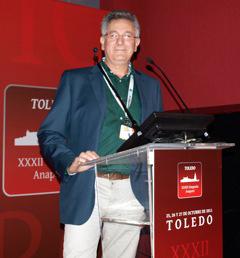Antonio Callén, director técnico de porcino de Merial Laboratorios