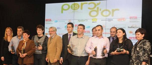 Los clientes de Semen Cardona, grandes triunfadores de los Porc dOr 2011