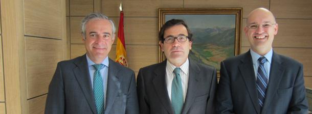 Reunión Dtor. Gral. Producciones y Mercados Agrarios, Carlos Cabanas