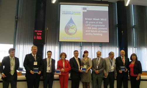 La Comisión europea premia el proyecto LIFE ESWAMAR de gestión de purines en Aragón
