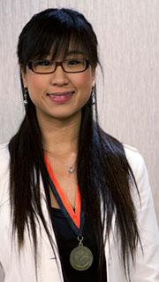 La Ganadora de posgrado este año fue Qian Wang de China, quien actualmente es estudiante de doctorado en la Universidad de California, Davis