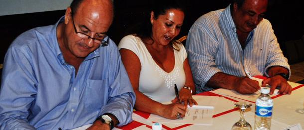 La FUNDACIÓN DEL JAMÓN SERRANO ESPAÑOL ha firmado un acuerdo de colaboración con la Cámara de Comercio de España en México (Delegación Quintana Roo) y con la Asociación de Hoteles de la Riviera Maya