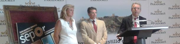El Consejero de Agricultura y Agua, Antonio Cerdá, de la Comunidad Autónoma murciana en la persentación de SEPOR 2012