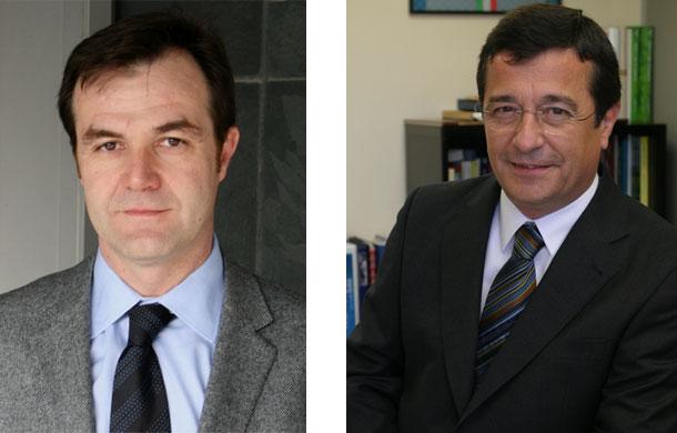 Emilio Gil y César Carnicer