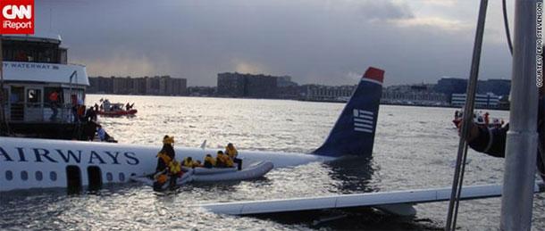 Vuelo 159 de US Airways que se estrelló en el rio Hudson