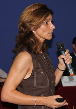 Sonia Cáreceles en la SEPOR