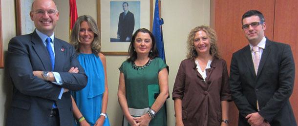 La nueva directora de la Oficina Española de Patentes y Marcas (OEPM), Patricia García-Escudero se reúne con representantes de la Plataforma Vet+i