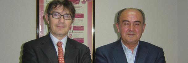 Jaime Yartu, Consejero de CERTICAR (izqda.), y Generoso García, Presidente de ANICE (dcha.).