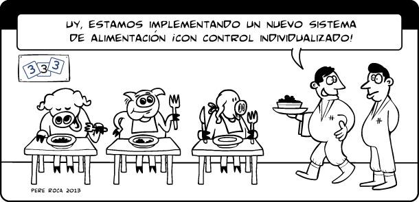 Control individualizado de la alimentación