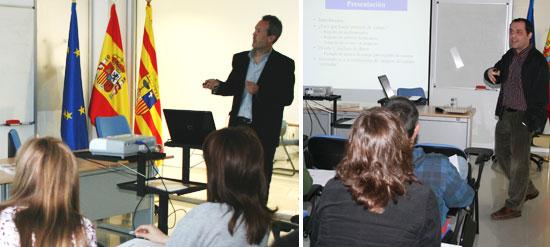 El Dr. Raúl C. Mainar y el Dr. Lorenzo Fraile