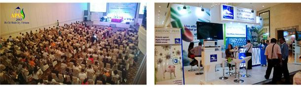 HIPRA en APVS 2013 en Vietnam