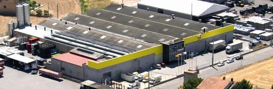 Las instalaciones de ROTECNA en su sede en Agramunt (Lleida)