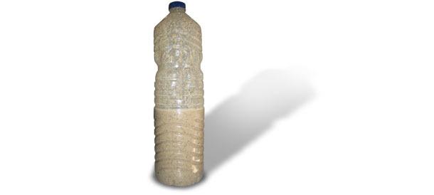 Si la botella se deforma ya nos está indicando que hay excesiva producción de gas.