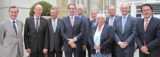 J.L. Hunault, C.Behm, M.Schneidereit, A. Bernal, F. Kamphuis, P. Sketchley,  A.B. Lundholt, J.L. Crosia, S. de Andrés y H. Wahnish