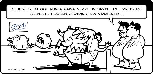 Virus de peste porcina africana