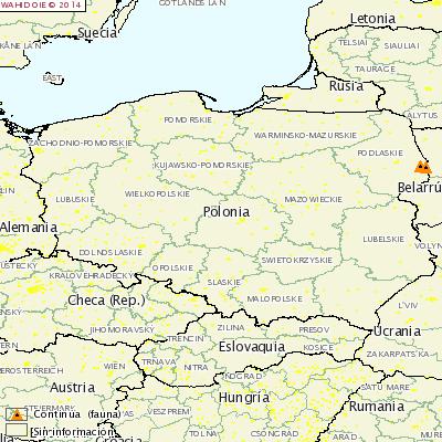 10 y 11 focos de PPA en Polonia