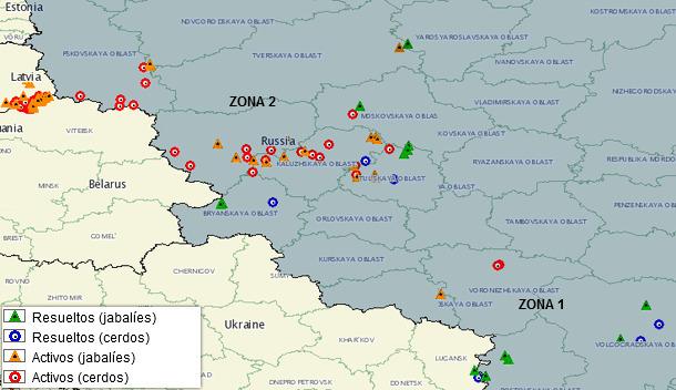 Casos de PPA en Rusia en 2014