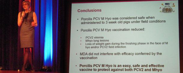 Rika Jolie profundizó sobre los resultados de eficacia y seguridad de la vacuna aportando datos de varias pruebas realizadas