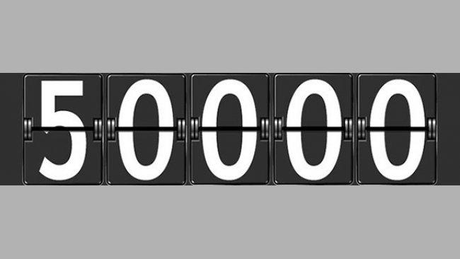 50000 usuarios registrados