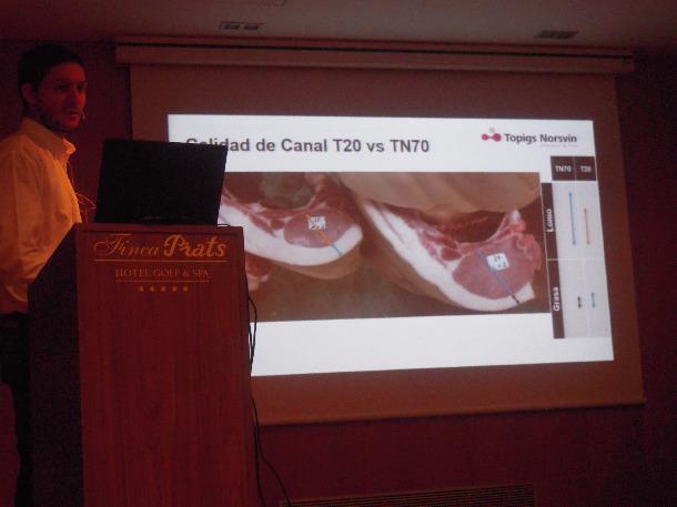 Presentación TN70, calidad canal