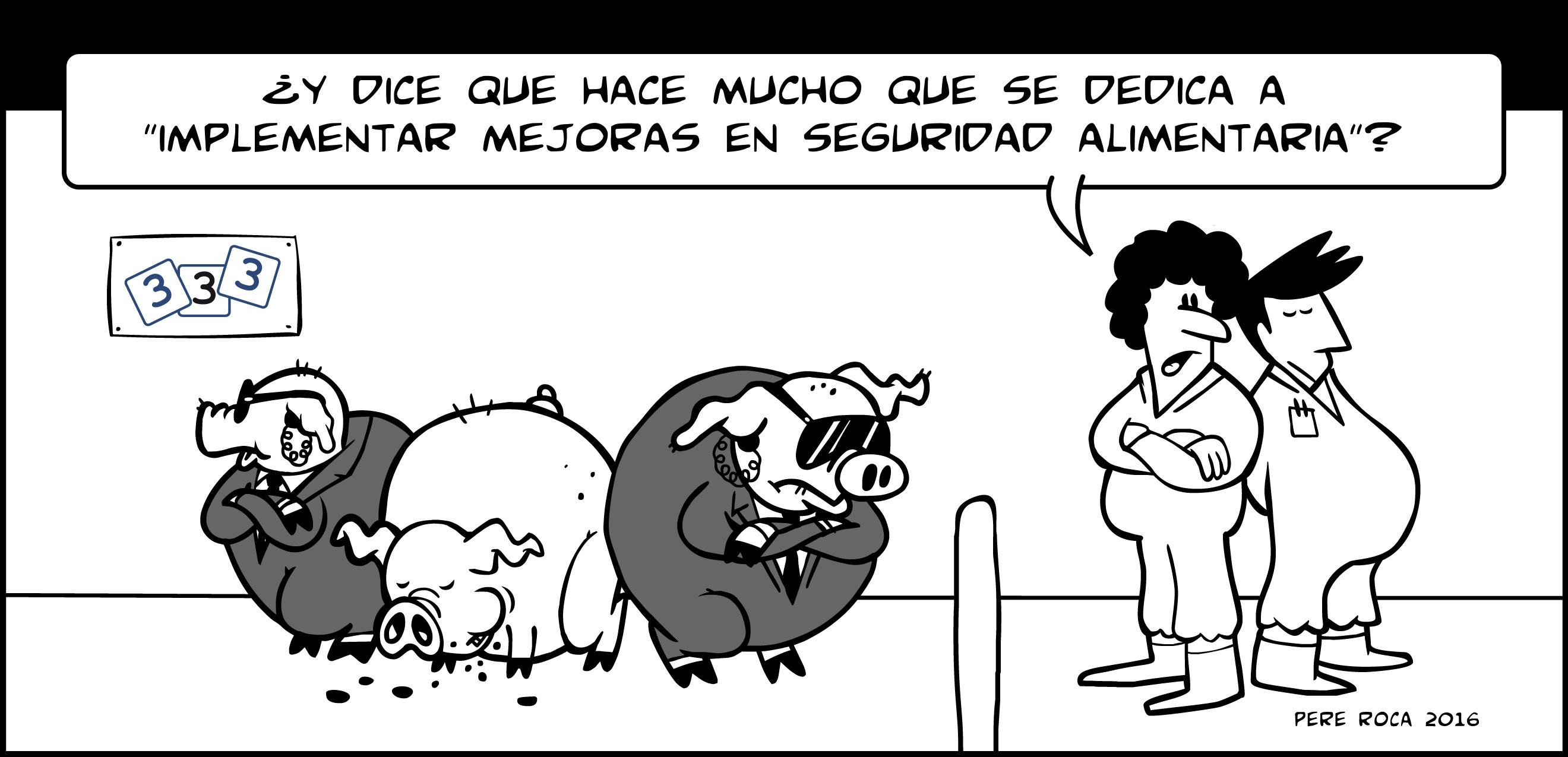 Seguridad alimentaria en porcino