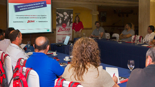 Presentación de Zactran en Valencia