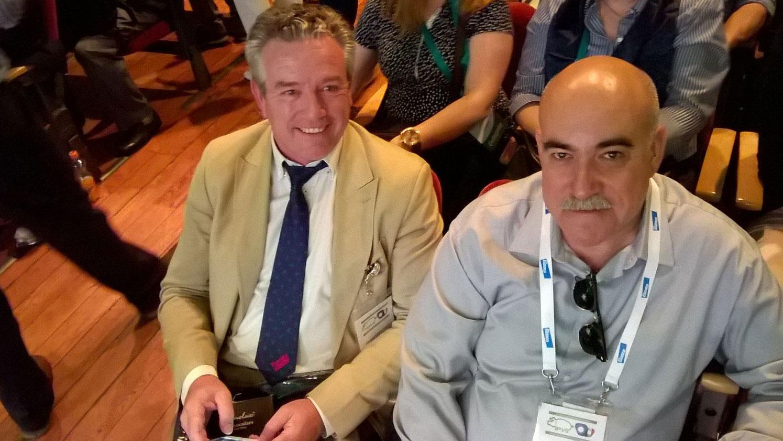 Antonio Palomo con Don Juan Grandía 1