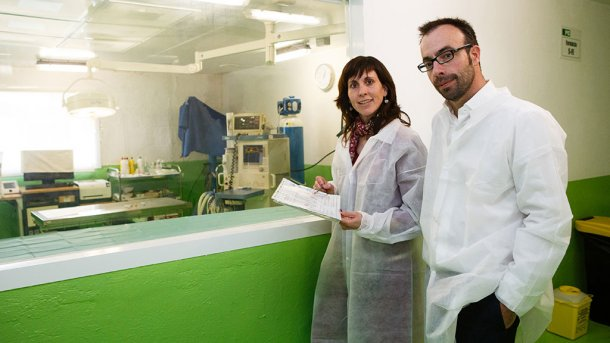 Judit Amposta y Jaume Amat
