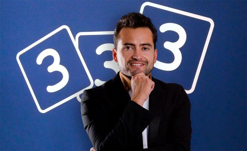 Reinaldo Cubillos se incorpora a 333