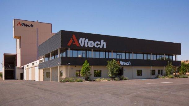 La nueva planta de fabricación local de Alltech Spain.