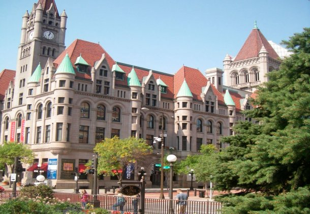 Landmark Center desde Saint Paul Hotel