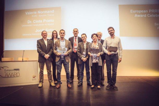 Ganadores del Premio Europeo de Investigación en PRRS 2017