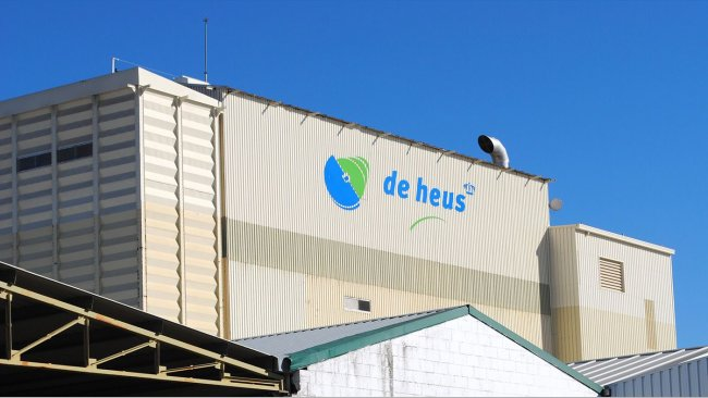Planta de piensos compuestos de De Heus en la actu