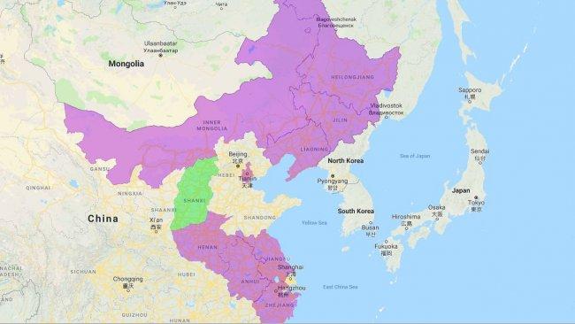 Provincias y municipios autónomos afectados por PPA.