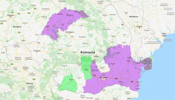 Dolj y Arges son los nuevos condados afectados por la PPA.