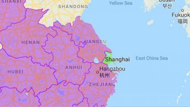 Con Shanghai son ya 19 las zonas afectadas.
