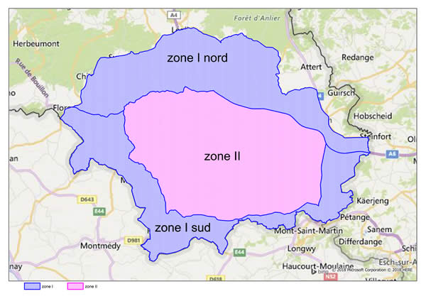 zones infectées ppa