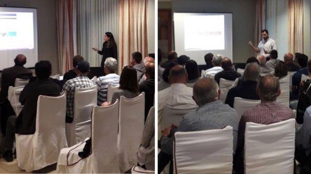 Gloria Abella y Sebastián Figueras presentaron charlas técnicas de gran relevancia.