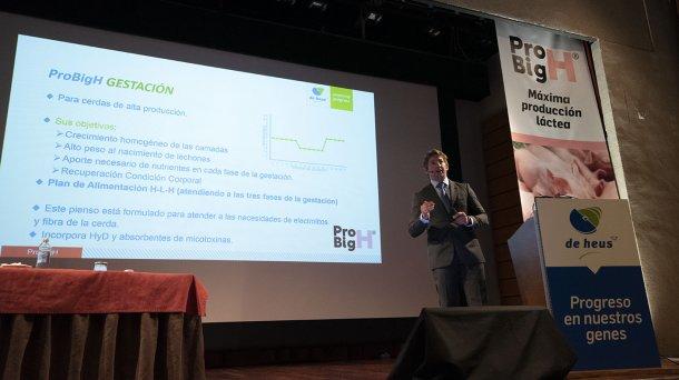 Francisco José Rodríguez, Product Manager de de De Heus Nutrición Animal
