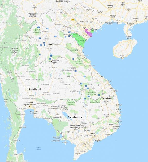 Hai Phong y Thanh Hoa, nuevas provincias afectadas por PPA.