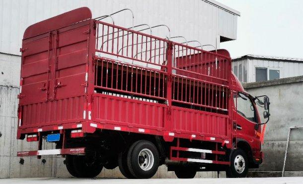Imagen 2. Camión interno para movimiento de un menor número de animales. Cortesía de DanAg Group, China.