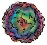 Mapa tridimensional de PCV2, obtenido a partir de criomicrofotografías.