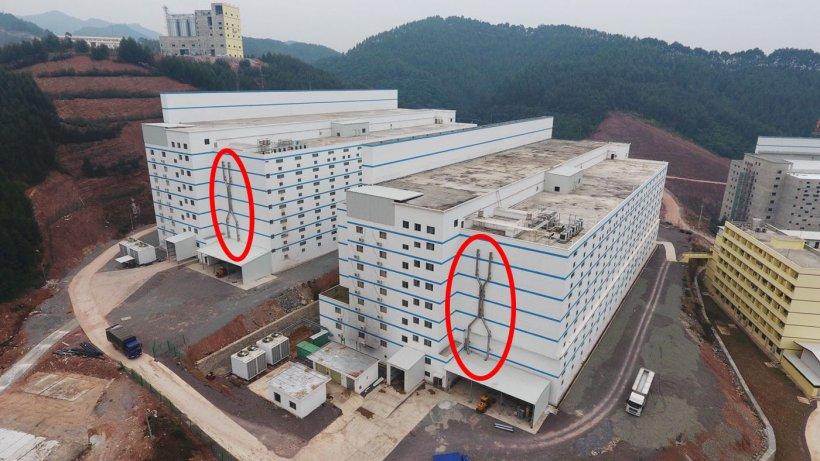 Foto 9: Sistema de saneamiento para las bajas.