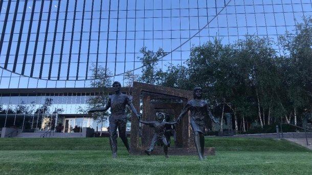 Richard and Annette Bloch Cancer Survivors Park en Minneapolis.