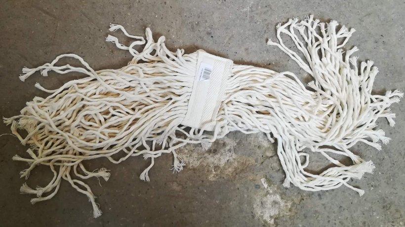 Imagen 1. Mocho completamente de algodón.