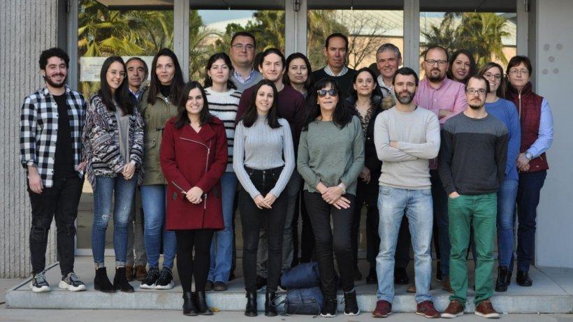 Investigadores delGrupo de Higiene y Seguridad Alimentaria del Instituto Universitario de Investigación de Carne y Productos Cárnicosde la UEx(IProCar).