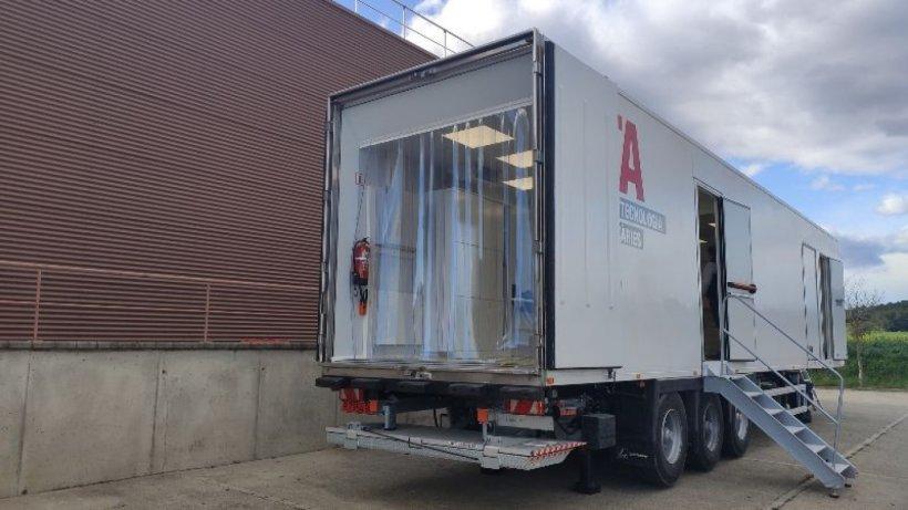 Camión equipado con el TAC